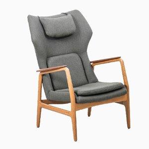 Chaise à Haut Dossier par Aksel Bender Madsen pour Bovenkamp, 1950s