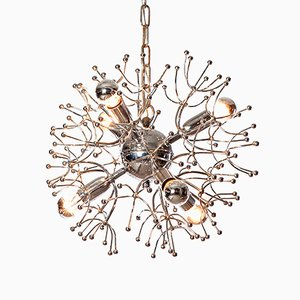 6 Light Sputnik Chandelier by Gaetano Sciolari, 1960s