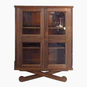 Vintage Vitrine mit Zwei Türen