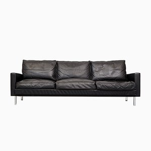 Loose Cushion Leather Sofa by George Nelson for Herman Miller