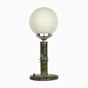 Lámpara de mesa Bauhaus alemana vintage