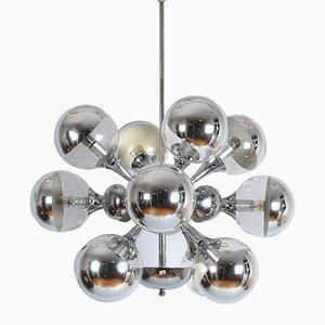 Lámpara Sputnik vintage de Goffredo Reggiani para Reggiani