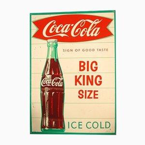 Publicidad de Coca Cola vintage, años 60