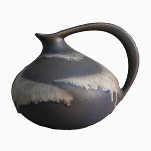 Fat Lava Ceramic Vase by Kurt Tschörner for Ruscha, 1950s