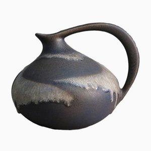 Vase en Céramique Fat Lava par Kurt Tschörner pour Ruscha, 1950s