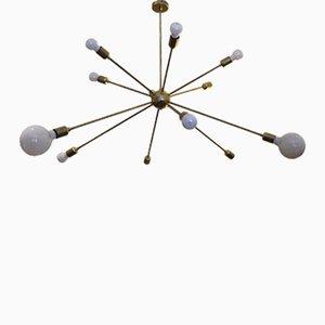 Lampada da soffitto Sputnik a 12 braccia di Juanma Lizana