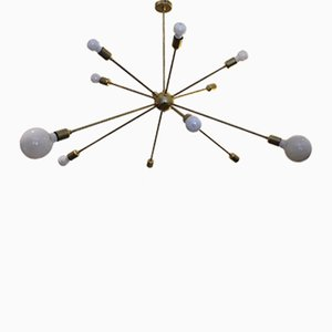 Sputnik Ceiling Light with 12 Arms by Juanma Lizana