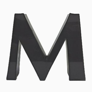 Decorative Letter M, 1970s