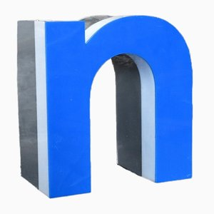 Decorative Lowercase Letter N, 1970s