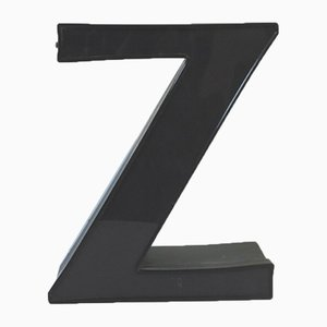 Decorative Letter Z, 1970s
