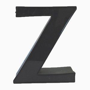 Lettera Z decorativa, anni '70
