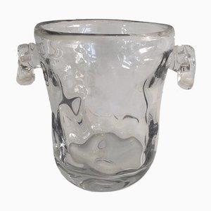 Champañera vintage de cristal