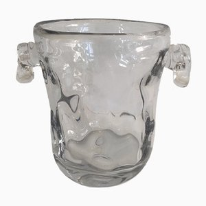 Vintage Kristall Champagnerkübel
