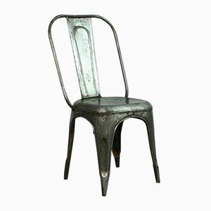 Silla AC Tolix francesa vintage de acero decapado de Xavier Pauchard para Tolix