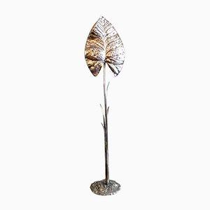 Lámpara de pie en forma de hoja de Valenti