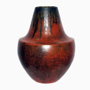 German Fat Lava Vase, 1970s