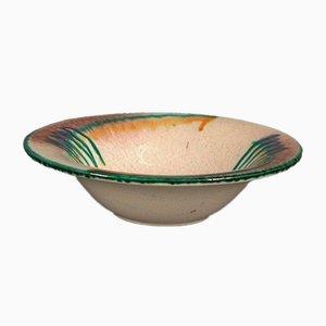 Cuenco alemán Art Déco de cerámica, años 20