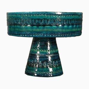 Scodella Rimini in ceramica blu di Cer Paoli, Italia, anni '50