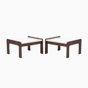 Dutch Wenge Side Tables by Martin Visser for 't Spectrum, 1950s, Set of 2