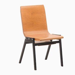 Schweizer Stuhl aus Gebogenem Schichtholz von Roland Rainer für E & A Pollack, 1956