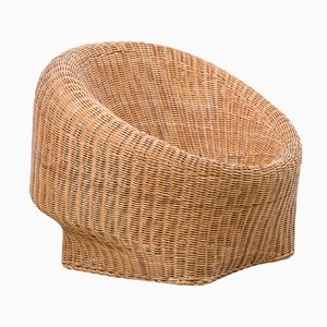 Dutch Basket Armchair, 1950s