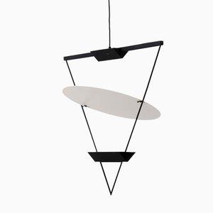 Lampe Triangle Renversée par Mario Botta pour Artemide, 1985