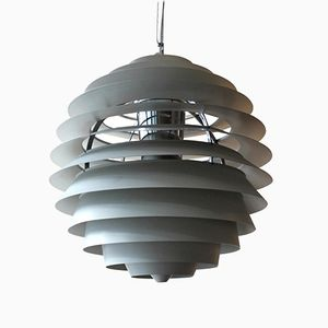 PH Louvre Pendant Lamp by Poul Henningsen for Louis Poulsen, 1960