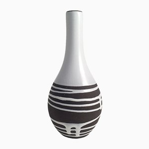 Brown & White Vase from Schlossberg Roulette