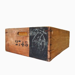 Industrial Wooden Storage Tray No. 2745, 1950s