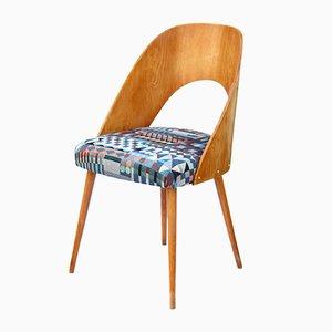 Ash & Oak Chair from Dřevopodnik ONV Písek, 1963