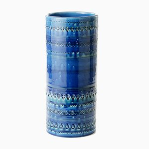 Vase Rond Rimini par Aldo Londi pour Bitossi