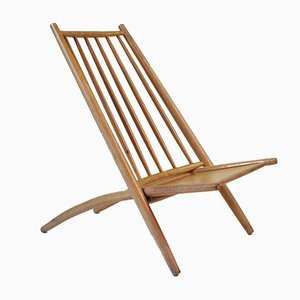 Swedish Beech Congo Chair by Alf Svensson for Bra Bohag / Haga Fors