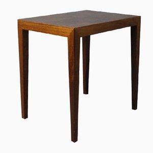 Petite Table d'Appoint par Severin Hansen pour Haslev, Danemark, 1960s