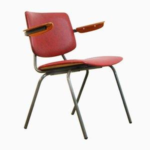 Chaise Industrielle par Kho Liang Ie & J Ruigrok pour Car Katwijk, 1960s