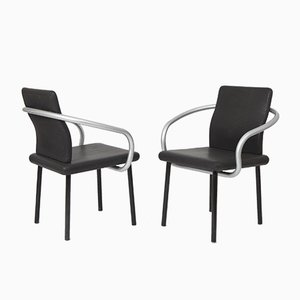 Mandarin Chairs by Ettore Sottsass for Knoll, 1986, Set of 4