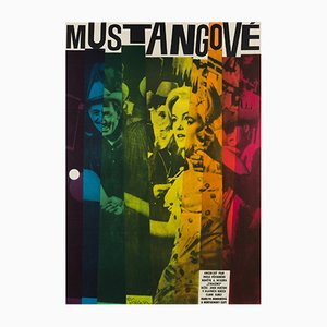 Czech Vintage The Misfits Poster by W.A. Schlosser, 1964
