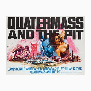 Póster de Quatermass & the Pit británico vintage de Tom Chantrell, 1967