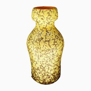 West German Fat Lava Vase, 1960s