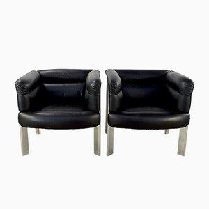 SC20 Sessel von Marco Zanuso für Poltrona Frau, 1970er, 2er Set