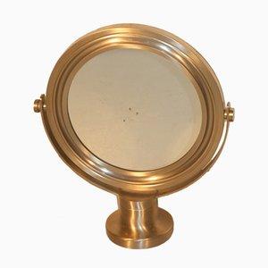 Espejo de mesa italiano de Sergio Mazza para Artemide, años 60