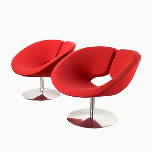 Dutch Apollo Lounge Chairs by Patrick Norguet for Artifort, 1990s, Set of 2