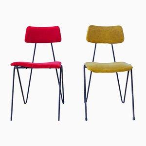 Stühle von Fratelli Saporiti, 1950er, 2er Set