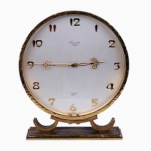 Swiss Art Nouveau Table Clock from Rosemont, 1950s