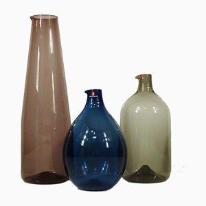 Bird Bottles by Timo Sarpaneva for Iittala, 1965, Set of 3