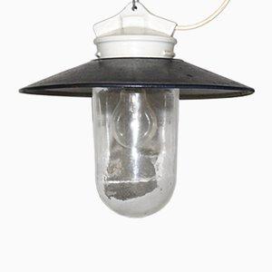 Lámpara de techo industrial, años 60