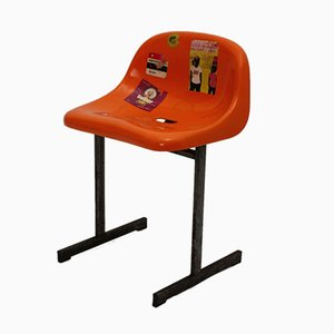 Orange Stadium Chair, 1970s