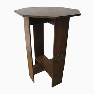 Tavolino Art Deco ottagonale