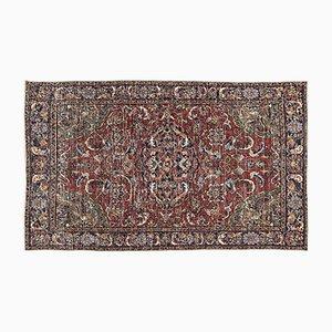 Mehrfarbig Eingefärbter Vintage Teppich aus der Türkei