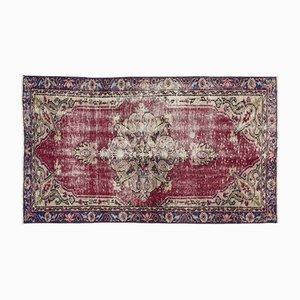 Eingefärbter Vintage Teppich