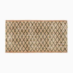 Braun Eingefärbter Vintage Teppich, 1960er
